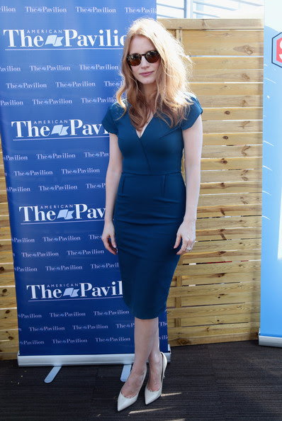 Jessica Chastain - Jessica Chastain Talks to Students at Cannes