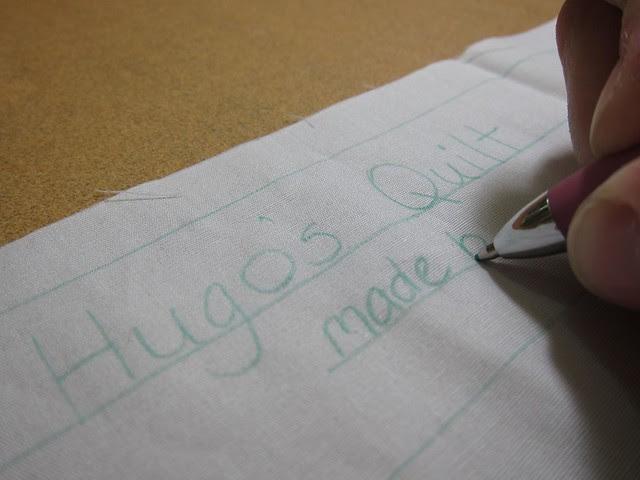 Hugo's quilt
