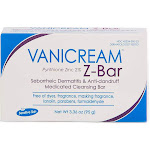 Vanicream Z-Bar Medicated Cleansing Bar for Sensitive Skin 3.36 Ounce