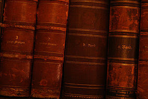 English: Books