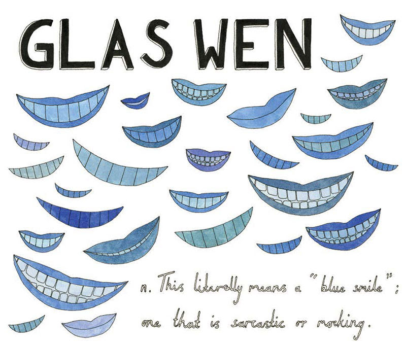 Glas wen