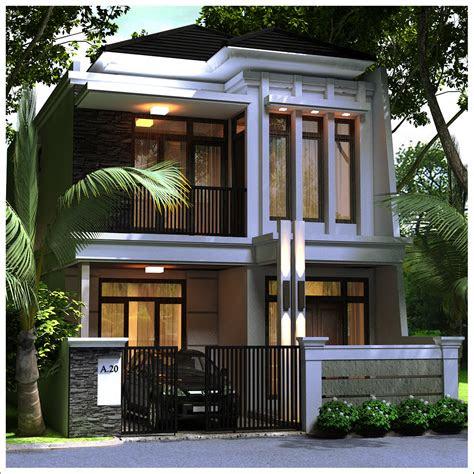model rumah minimalis lantai 2 - desain rumah
