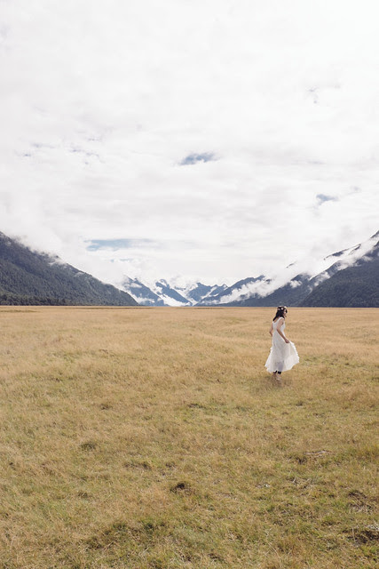 New Zealand: South Island's landscape in our wedding pictures