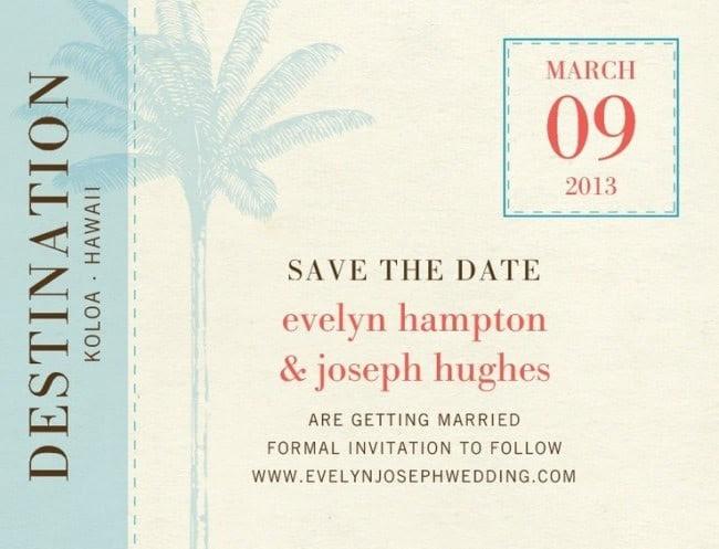 expensive wedding invitation for you destination wedding send out