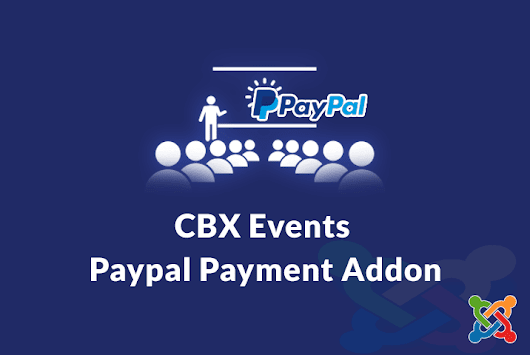 CBX Events Paypal Payment Addon