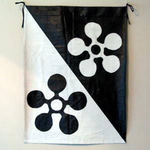 Two cinquefoils banner