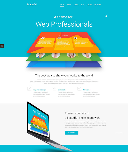 TemplateMonster's Material Joomla Template Review