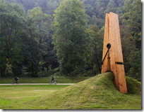 Clothespin Pincing Earth