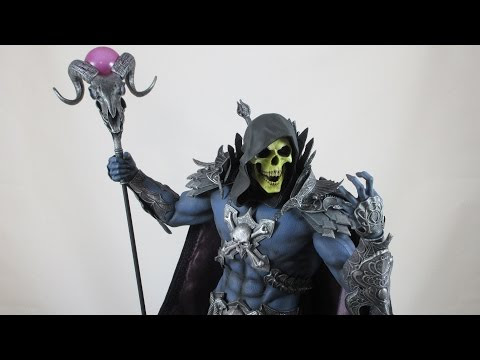 Sideshow Collectibles Skeletor Masters of the Universe exclusive statue