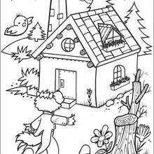 Dibujos De Los 3 Cerditos Para Colorear 18 Dibujos De Cuentos De