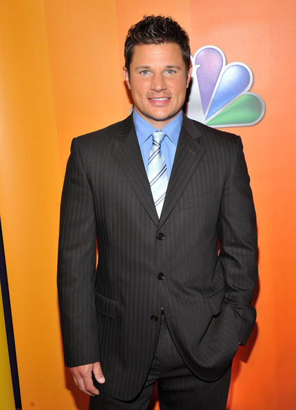 Nick Lachey TV personality/singer Nick Lachey attends the 2011 NBC Upfront at The Hilton Hotel on May 16, 2011 in New York City.