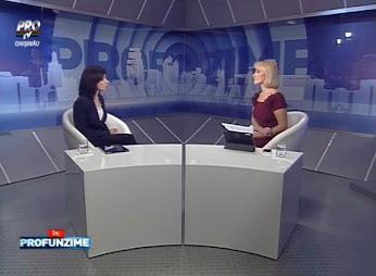 Emisiunea In PROfunzime cu Lorena Bogza - 31.07.15