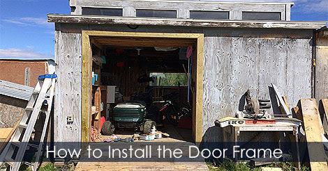 Build Shed Door - How to Measure Make and Install Shed Doors