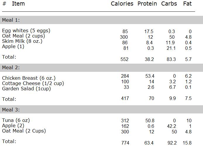 lean muscle workout plan pdf