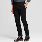 Men's Slim Fit Hennepin Chino Pants - Goodfellow & Co Black 32x30