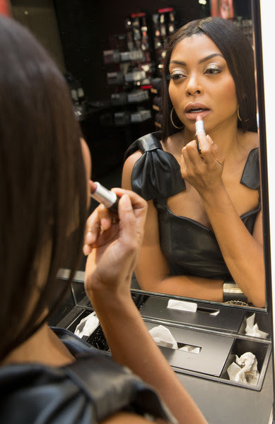 M.A.C Cosmetics Event With Taraji P. Henson At M.A.C Michigan Avenue