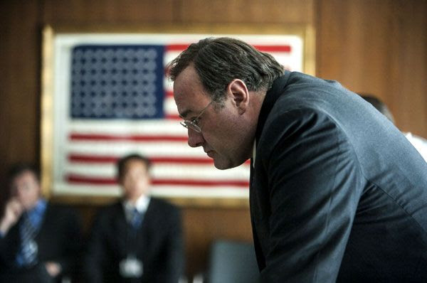 James Gandolfini played the CIA Director in last year's Oscar-nominated film, ZERO DARK THIRTY.