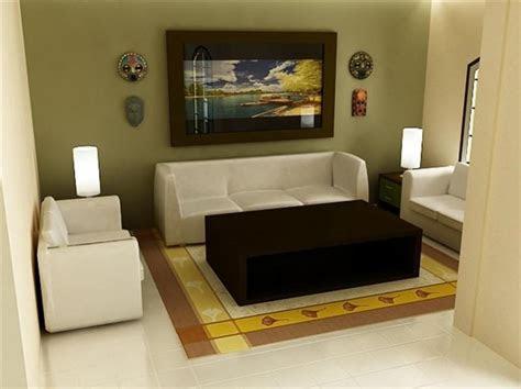 dekorasi ruang tamu minimalis elegan modern rumah impian