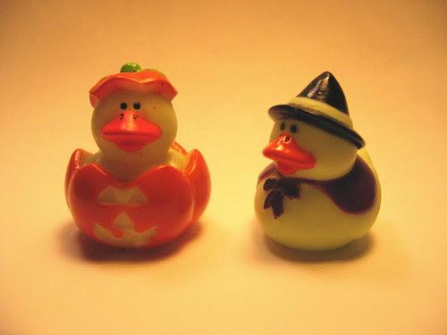 Halloween duckies