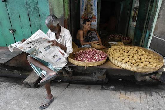 India Ink: Newspapers Boom Where the Internet Doesn't Reach