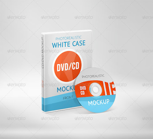 10 Best CD DVD Case / Cover Mockup PSD Templates - DesignersLib.com