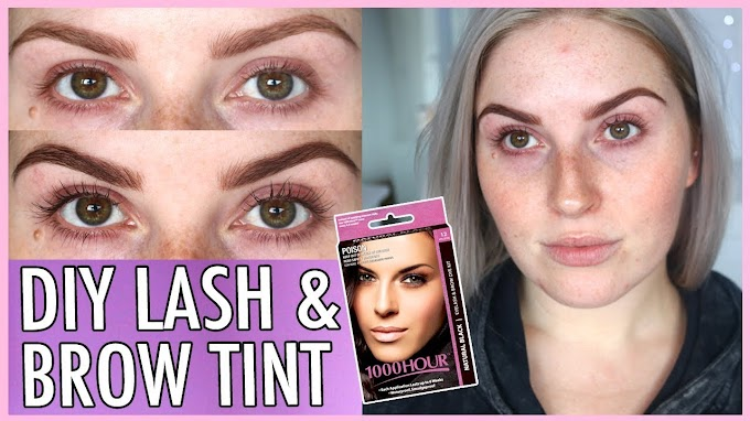 1000 Hour Eyebrow Tint Before And After