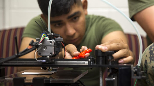 Marines' Love Affair With 3D Printing: Small Is Cheap, & Beautiful