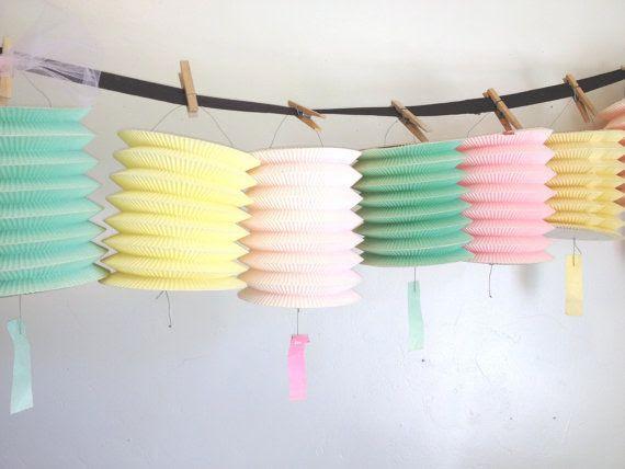 Vintage Paper Lantern