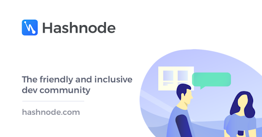 The Dev Community — Hashnode