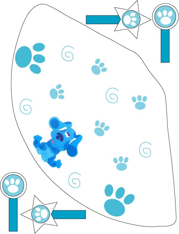 Imprimibles de las Pistas de Blue. | Ideas y material gratis para ...