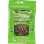 High Mowing Organic Broccoli Blend Sprouting Seeds - 3 oz bag