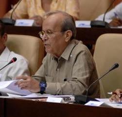 Ricardo Alarcón addresses the ANPP