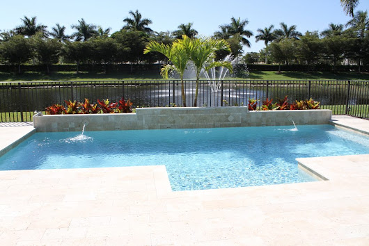 Concrete Pool Decks – they don't have to be boring! | Treasure Pools Blog