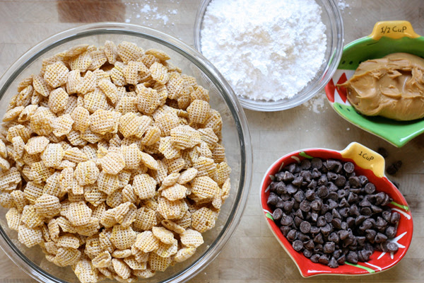 Ingredients for Puppy Chow