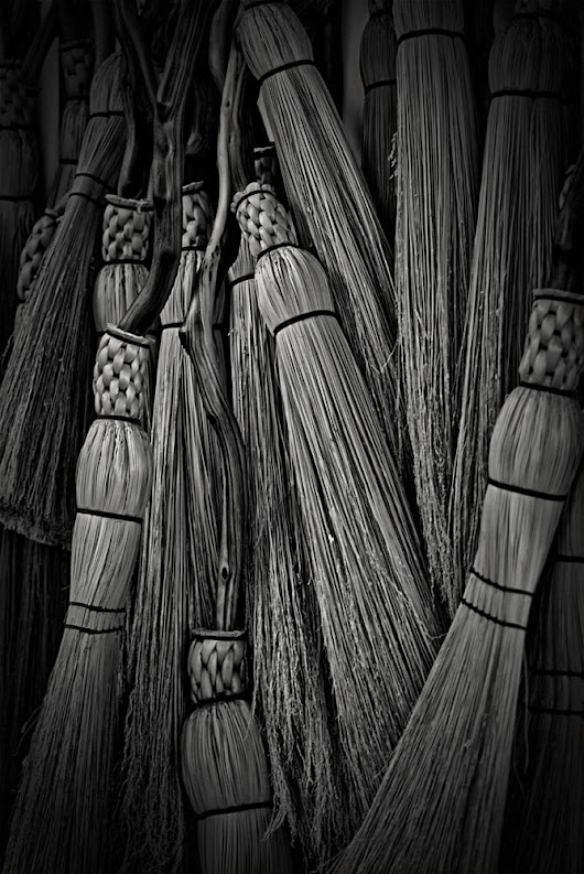 Brooms This Way and That by Suzanne Kreitzberg