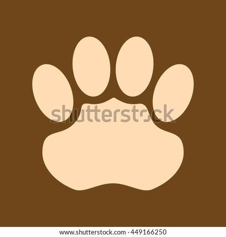 Very Useful Editable Vector Icon Of Jaguar Footprints On Coffee ...