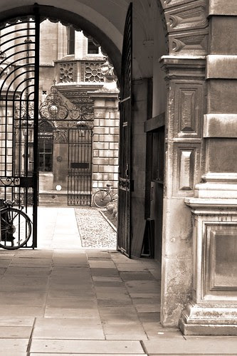 Clare College entrance