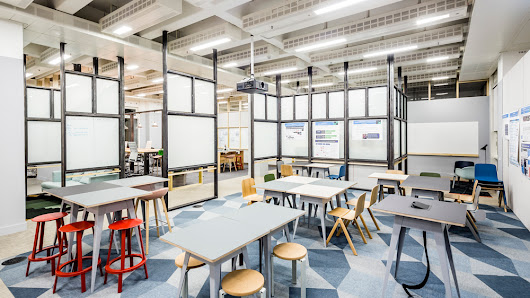 "APA designs ""raw"" collaborative office space for Barclaycard"