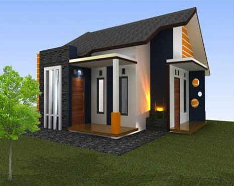 10 Bentuk Rumah Sederhana Ukuran 6x9 unik Desain Rumah