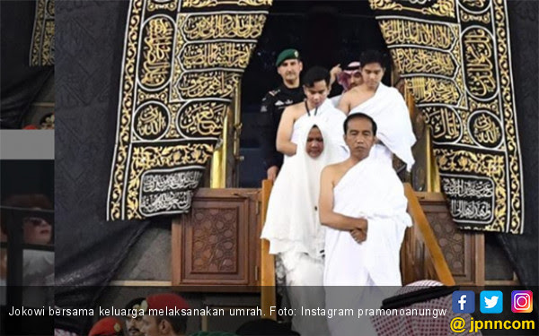 Istana Bantah Jokowi Memaksa Raja Salman Agar Bisa Masuk Kakbah - JPNN.COM