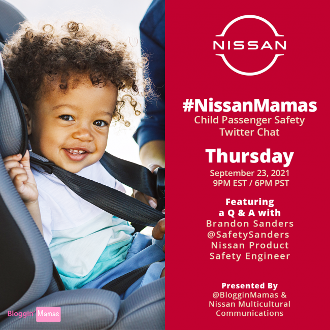 #NissanMamas Twitter Chat 9-23-21 at 9p ET