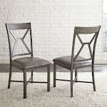 Steve Silver Alamo Side Chair, Gray - 2 count
