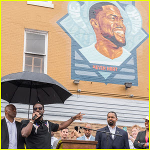 Kevin Hart Receives Mural in His Honor in Hometown of Philly