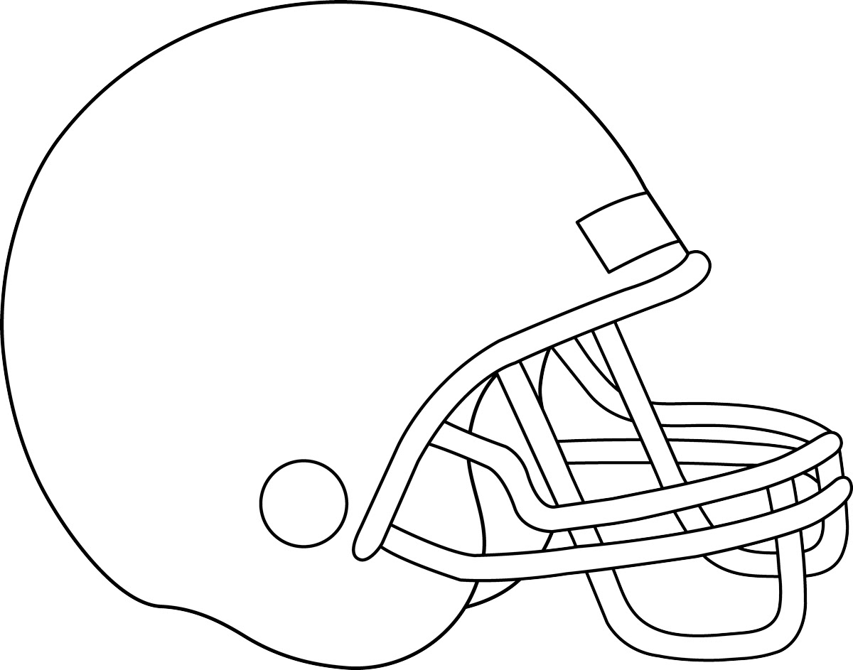 football helmet coloring pages 15