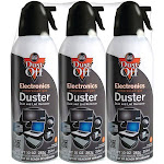 Dust Off DPSXL3 Disposable Dusters Multi Colored - Pack of 3