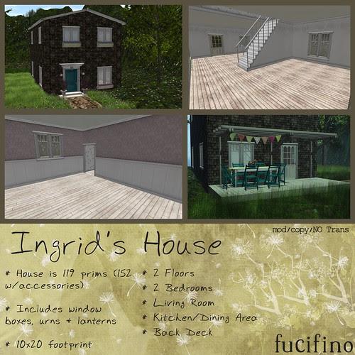 fucifino.Ingrid's House for La Venta Eventa