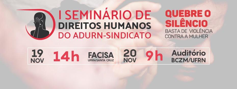 I Seminário de Direitos Humanos