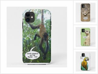 Comic Animal Phone Case Collection