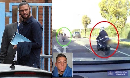 Armed robber jailed after attempted robbery and chasing Andy Carroll through East London.  www.Westm...