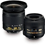 Nikon AF-P 10-20mm f/4.5-5.6 & AF-S 40mm f/2.8 Lenses Landscape & Macro 2 Lens